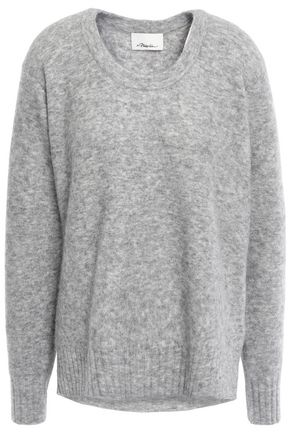 3.1 PHILLIP LIM Mélange brushed-knitted sweater