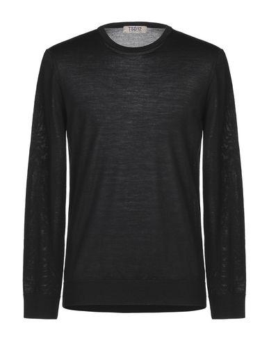 Фото - Мужской свитер TSD12 черного цвета