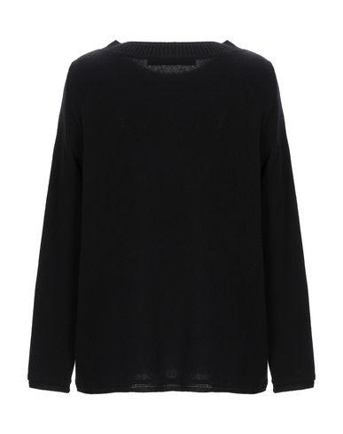 Фото 2 - Женский свитер WHYCI черного цвета