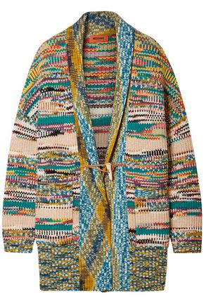 MISSONI Ribbed-knit cardigan