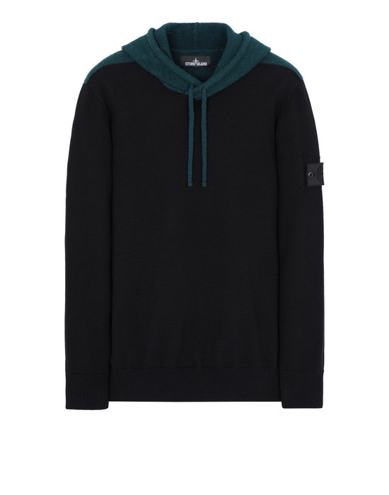 Sweater 504D2 CONTRAST HOODIE STONE ISLAND SHADOW PROJECT - 0