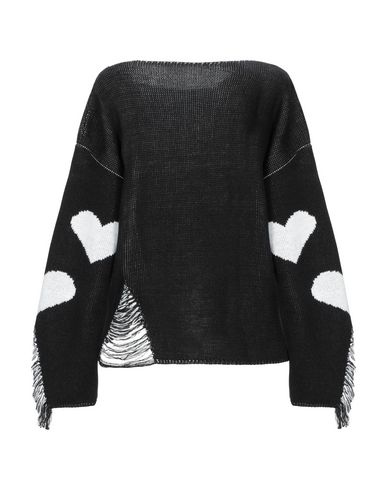 Фото 2 - Женский свитер RANPOLLO черного цвета