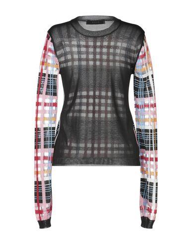 Фото 2 - Женский свитер MSGM черного цвета