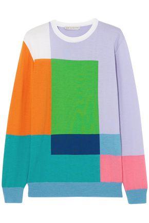 MARY KATRANTZOU Hartigan color-block wool sweater