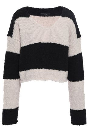 AMIRI Striped wool-blend sweater