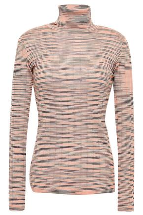 M MISSONI Ribbed-knit turtleneck top