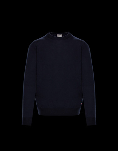 CREWNECK Dark blue Category Crewnecks