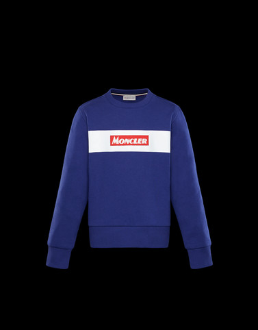 SWEATSHIRT Blue Junior 8-10 Years - Boy Man
