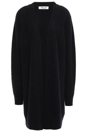 DIANE VON FURSTENBERG Brushed knitted cardigan