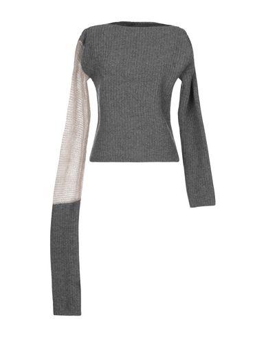 Фото - Женский свитер DENISE BONAPACE серого цвета