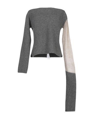 Фото 2 - Женский свитер DENISE BONAPACE серого цвета