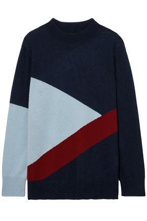 CHINTI & PARKER Mexicano intarsia wool and cashmere-blend sweater
