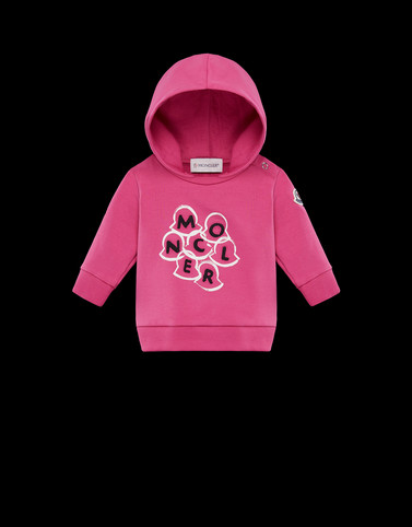 SWEATSHIRT Pink Category HOODED SWEATSHIRTS Woman