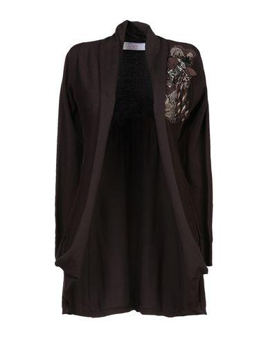 Купить Женский кардиган CLIPS MORE темно-коричневого цвета