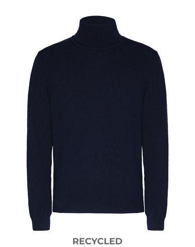 Купить Мужскую водолазку 8 by YOOX темно-синего цвета