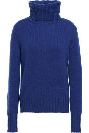 N.PEAL Mélange cashmere turtleneck sweater