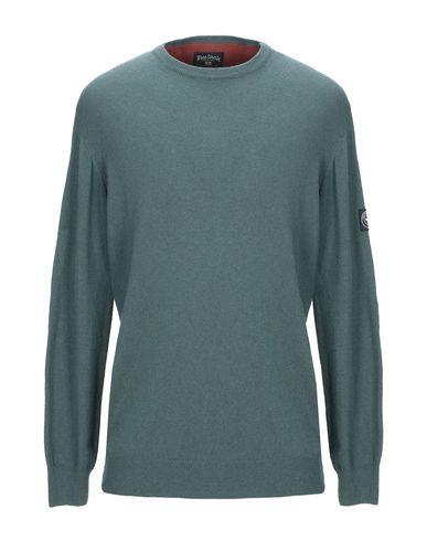 Фото - Мужской свитер THREE STROKE зеленого цвета