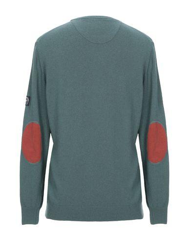Фото 2 - Мужской свитер THREE STROKE зеленого цвета