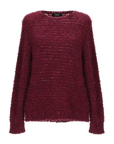 Фото - Женский свитер ALPHA STUDIO красно-коричневого цвета