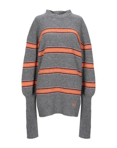 Фото - Женский свитер MSGM серого цвета