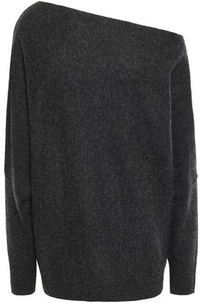CHARLI Off-the-shoulder cashmere sweater