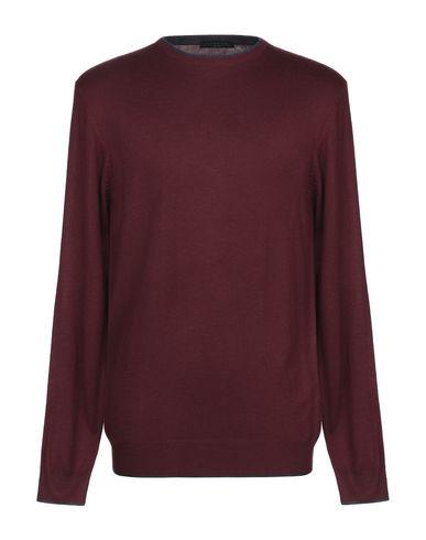 Фото - Мужской свитер ANTONIONI Milano красно-коричневого цвета