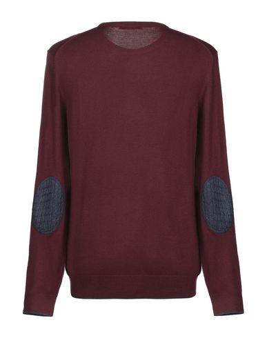 Фото 2 - Мужской свитер ANTONIONI Milano красно-коричневого цвета