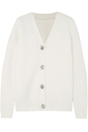 VICTORIA, VICTORIA BECKHAM Reversible ribbed-knit sweater
