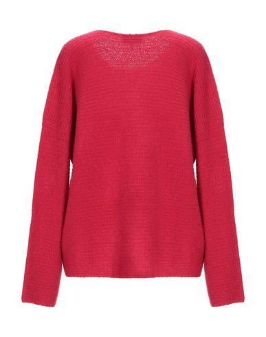 Фото 2 - Женский свитер  цвета фуксия