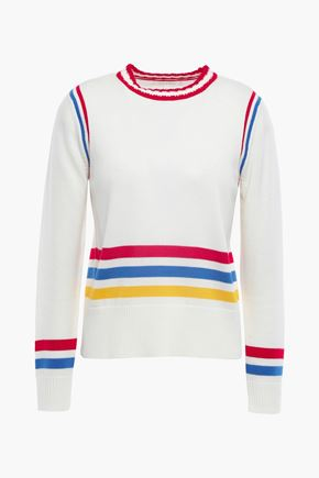 CHINTI & PARKER Striped wool sweater