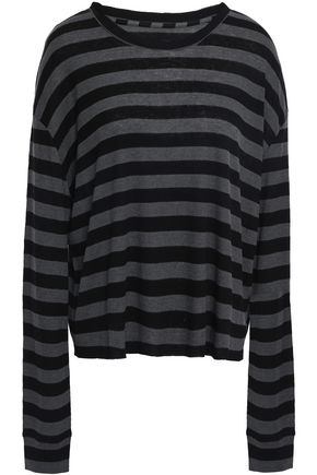 RTA Emmet ribbed stretch-knit top