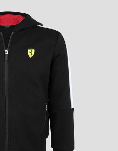 Scuderia Ferrari Online Store - Children's sweatshirt with reflective piping -