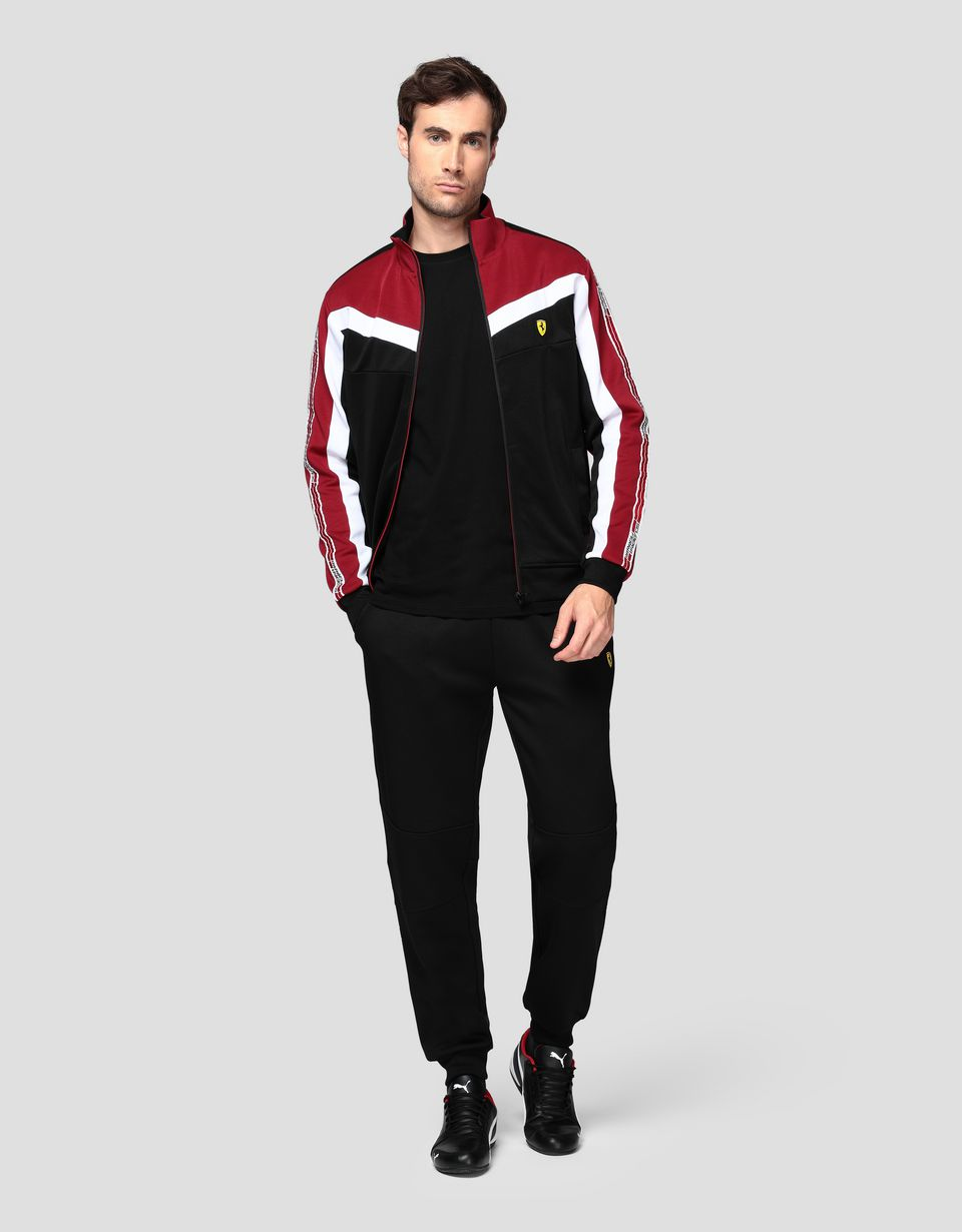 Scuderia Ferrari Online Store - Men's sweatshirt with Icon Tape -