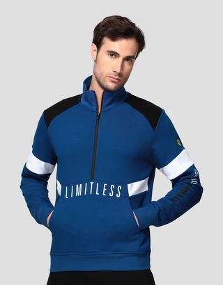 Scuderia Ferrari Online Store - Herrensweater mit Print LIMITLESS - H-Zip Jumper