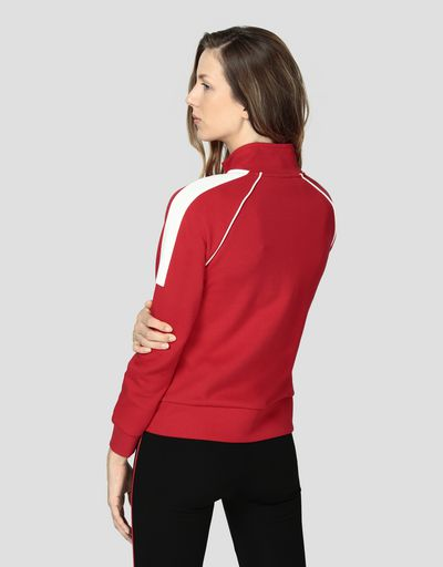 Women's sweatshirt with zip and LIMITLESS print