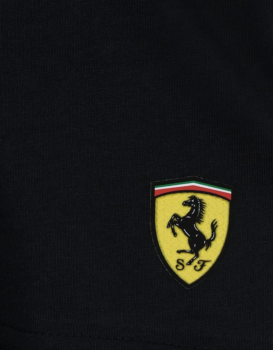 Scuderia Ferrari Online Store - Kids' T-shirt in cotton jersey with print - Short Sleeve T-Shirts