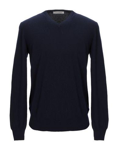 Фото - Мужской свитер LA FILERIA темно-синего цвета
