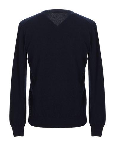 Фото 2 - Мужской свитер LA FILERIA темно-синего цвета