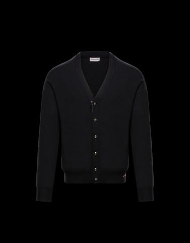 CARDIGAN Black Knitwear & Sweatshirts Man