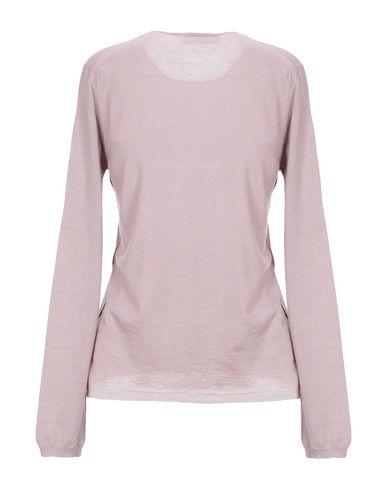 Фото 2 - Женский свитер  светло-фиолетового цвета