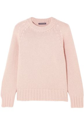 ALEXANDER MCQUEEN Cashmere and wool-blend sweater