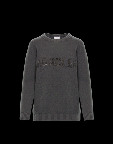 CREWNECK Grey Category Crewnecks Woman