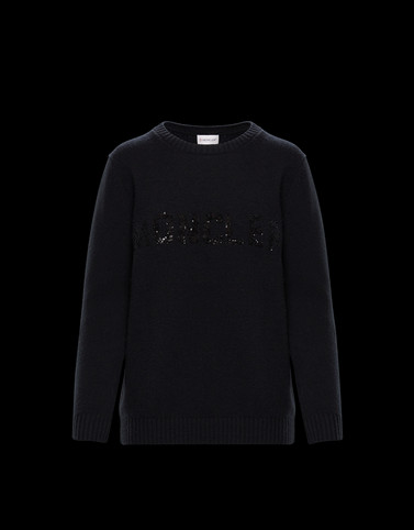 CREWNECK Black Knitwear
