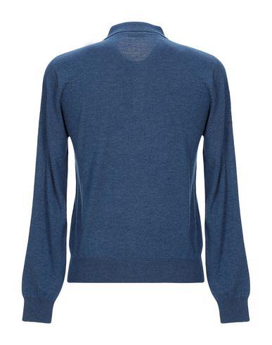 Фото 2 - Мужской свитер CASHMERE COMPANY грифельно-синего цвета