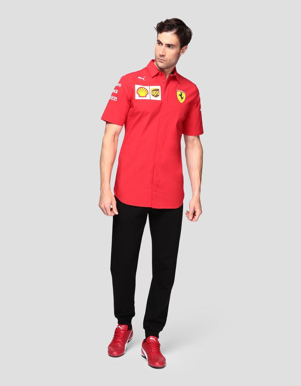 Scuderia Ferrari Online Store - Scuderia Ferrari 2019 Replica men's shirt - Short Sleeve Shirts