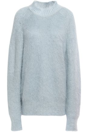 JIL SANDER Mohair and silk-blend sweater