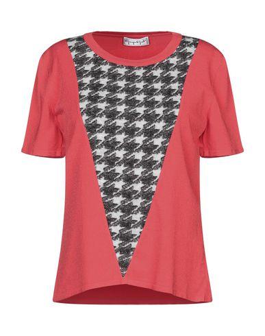 Фото - Женскую футболку GIORGIO GRATI красного цвета