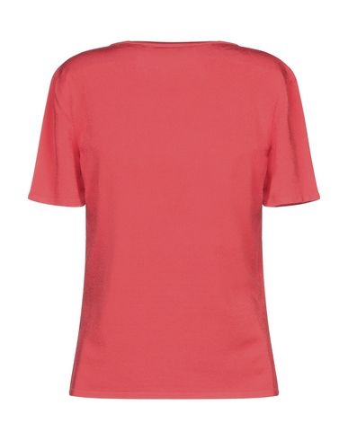 Фото 2 - Женскую футболку GIORGIO GRATI красного цвета
