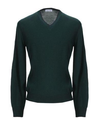 Фото - Мужской свитер GRAN SASSO темно-зеленого цвета