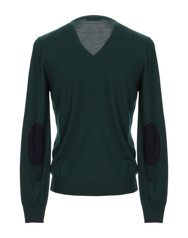 Фото 2 - Мужской свитер GRAN SASSO темно-зеленого цвета